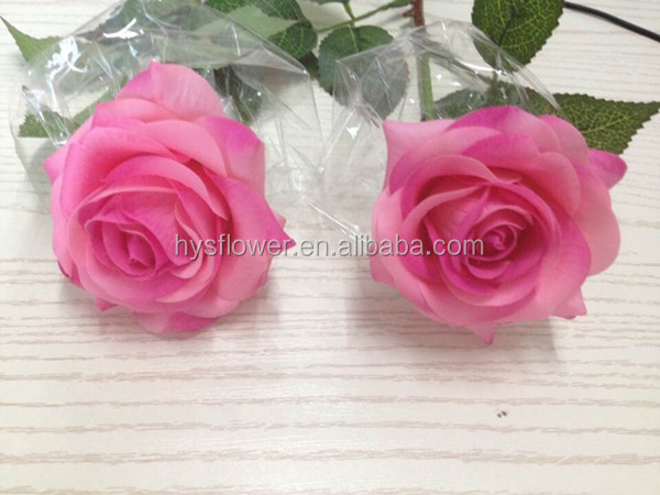 Artificial High Quality Real Touch Pink/purple Roses,Real ...
