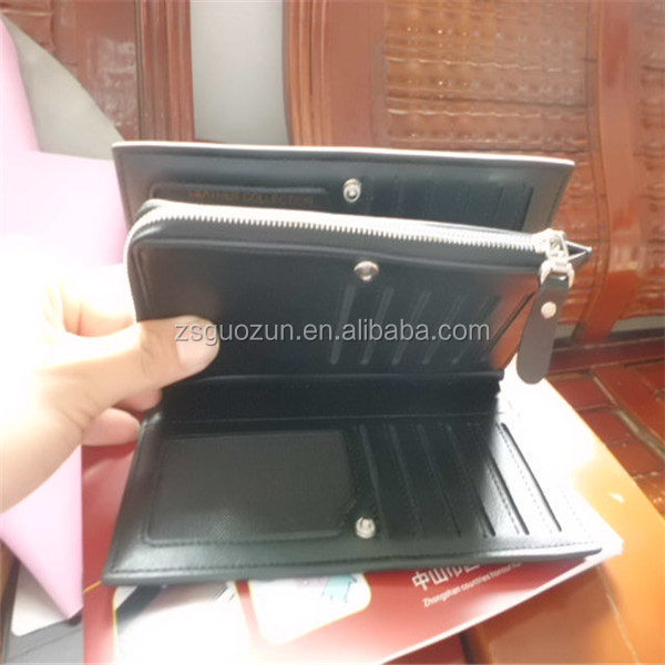 Hot selling style PU/Real genuine leather business card wallet / credit gift card purse, pouch, card holder, cardholder