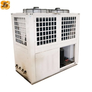 Plastic industrial refrigeration modular air cooled chiller