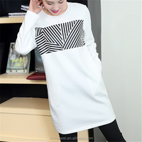 Customized Ladies Extra Long T Shirt New Pattern Tall T shirts Wholesale