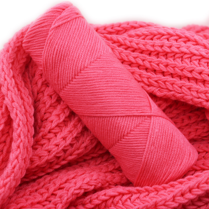 popular color super soft hand knitting crochet milk cotton blended yarn for scarf