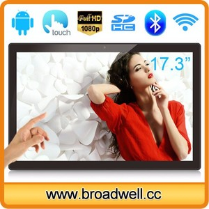 17.3 Inch Full HD Screen 1920*1080px Capacitive Touch Screen RK3288 Quad Core Android 5.1 OS All In One Tablet PC