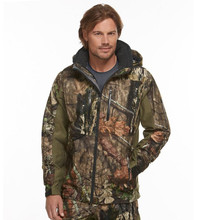 Goed Ontwerp Aangepaste Outdoor Softshell Camo <span class=keywords><strong>Jacht</strong></span> <span class=keywords><strong>Kleding</strong></span>
