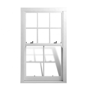 Aluminum custom victorian vertical sliding double glazed sash windows