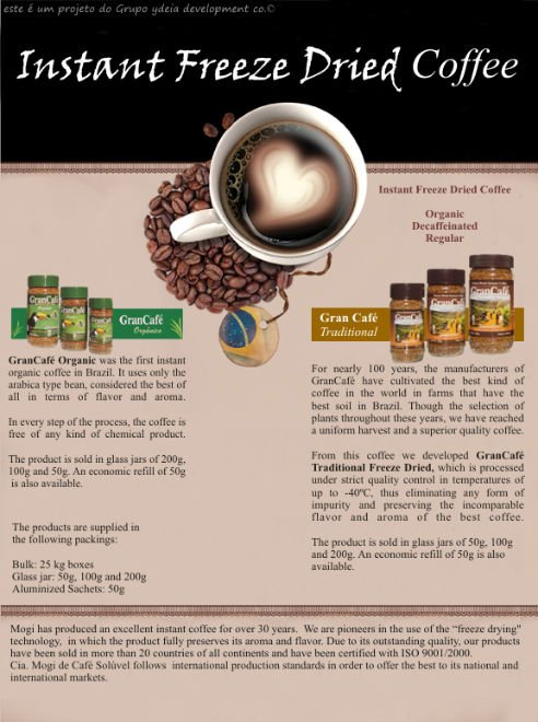 Instant Freeze Dried Coffee - Buy Coffee Product on Alibaba com