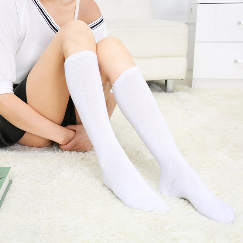 Чулках девушки в белых гольфах носочках фото двое