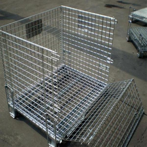 Potato Cold Storage Contenitori Per Legna Da Ardere Wire Baskets Cargotainer Palletainer For Pallet Rack Buy Potato Cold Storage Contenitori Per