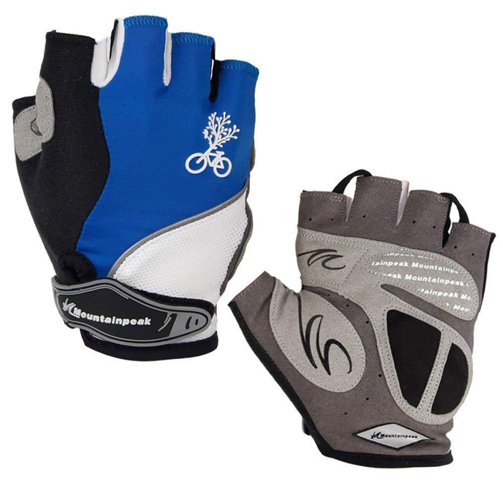 Cycling Gloves Men Bike Bicycle MTB Racing Cycle Half Women Finger Riding
