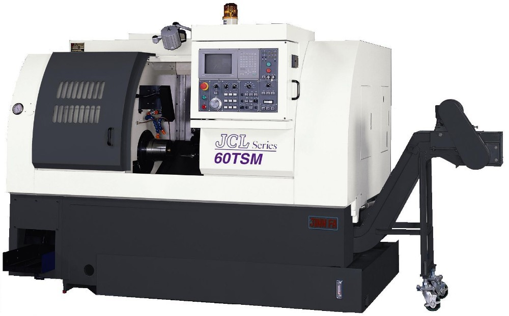 CNC Lathe JCL-60TSM turret type fixed head lathe machine