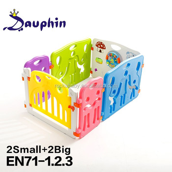 Colorful Children Fence Outdoor, Kids Fence Garden, Baby Fence With Indoor  Playground