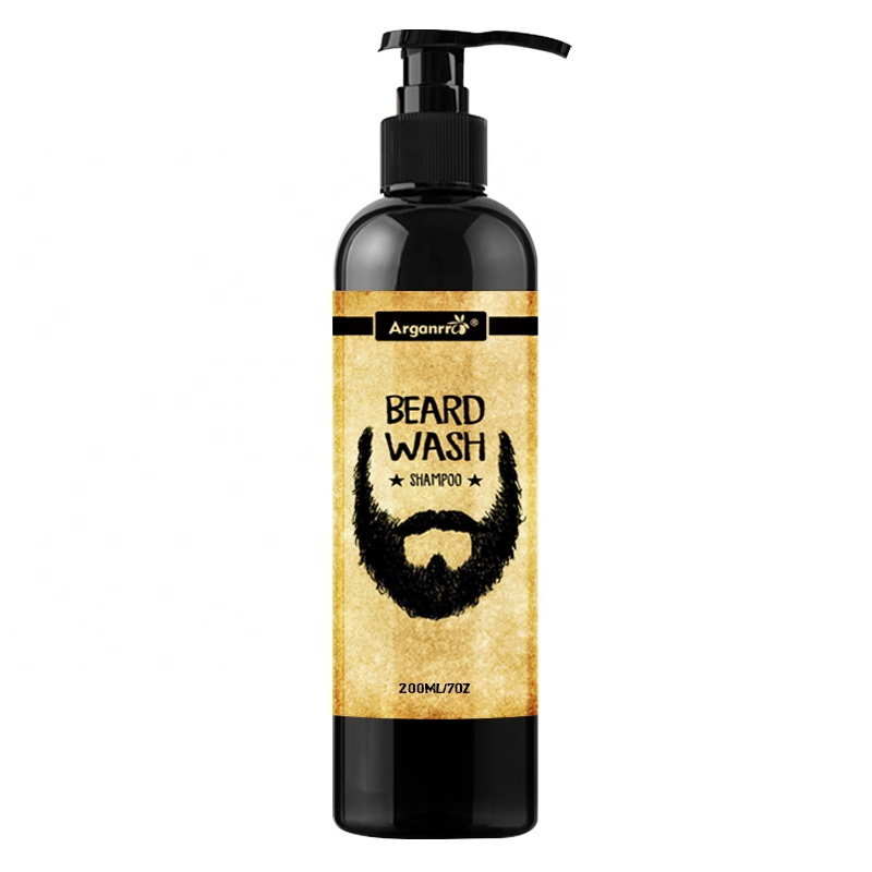 ARGANRRO di MARCA o private label mens barba shampoo