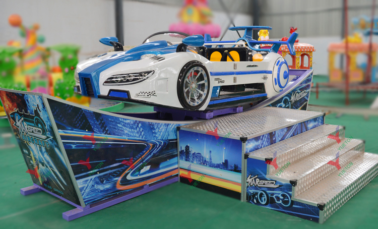 2019 New Products Carnival Games Christmas Discount Price Swing Mini Flying Car For Amusement Park