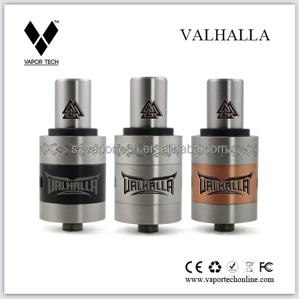 2014 Christmas top seller the Valhalla atomizer by Vapor Tech pure flavor vaping 22mm Doge RDA