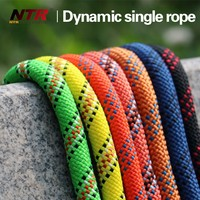 9.8-14mm Hot sale nylon dynamic climbing rope