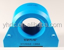 RMS hall current transducer 100A rms : 4-20mA
