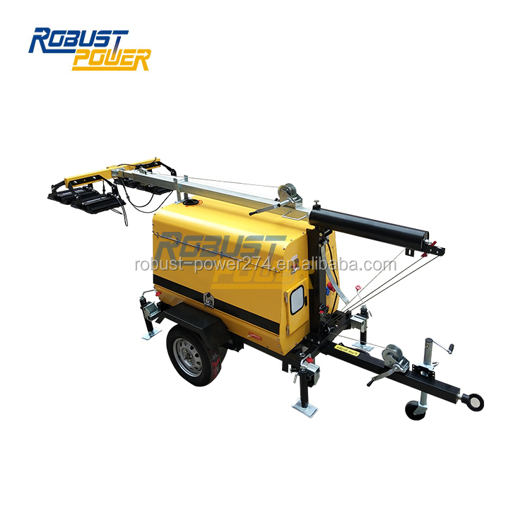 7.2KW Diesel Generator 9 Meters Portable Light Tower