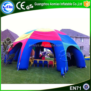 Hot selling item large camping tent outdoor tent inflatable