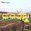 New attraction park equipment indoor or outdoor kiddie sweet rides mini track train