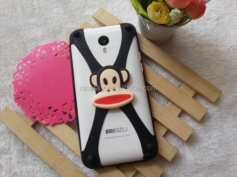New Lovely 3D Cartoon Olaf Minnie Teddy Kitty Universal Rubber Soft Silicone Phone Bumper Case For Samsung Galaxy