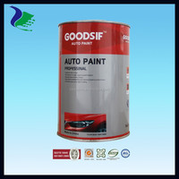 GOODSIF series high quality acrylic 1K basecoat auto paint (Manufacture in Guangzhou )