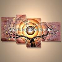 Modern handmade home decor oil painting provider