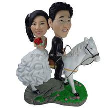 personnalise bobblehead gteau de mariage topper main de photo creative cadeau de mariage - Figurine Gateau Mariage Personnalis
