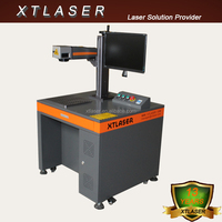 XTL-F10 Jewelry/ring/pipe/hardware/plastic nonmetal and Metal fiber laser marking system