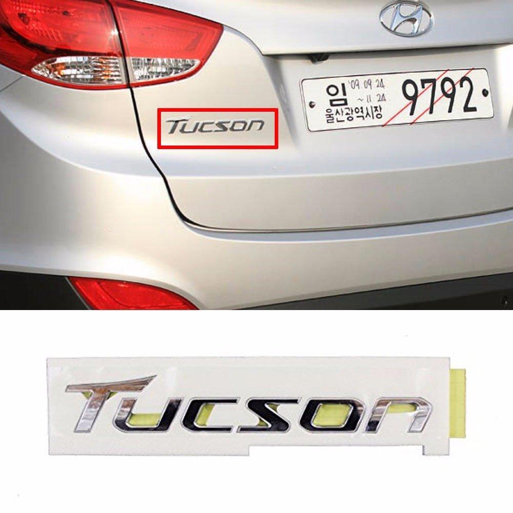Trunk Badge 2EA for HYUNDAI 2010-2015 Tucson ix ix35 Eagle Emblem Grille