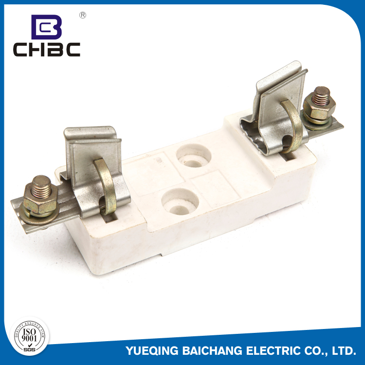 CHBC White Colour Low Voltage Porcelain Electrical Fuse Holder Safety Types