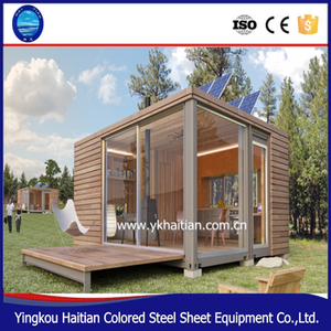 Easy assembly wooden house romania design prefabricated 20ft 40ft container rooms log house europe for sale