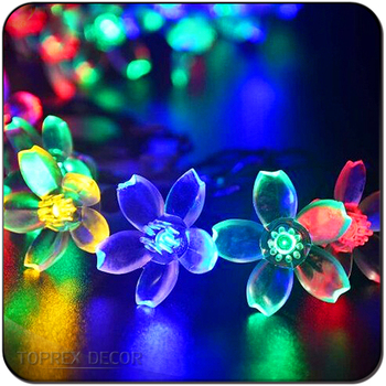 Party Decor Multi Color Led Bright Outdoor String Lights