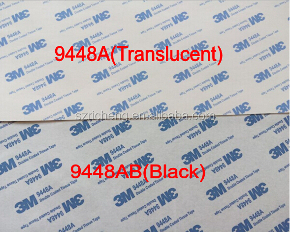 3m Double Sided Tissue Tape 9448a/9448ab Blue 3m Logo - Buy Double Sided  Tissue Tape,Double Sided Adhesive Tape,Waterproof Double Sided Adhesive  Tape