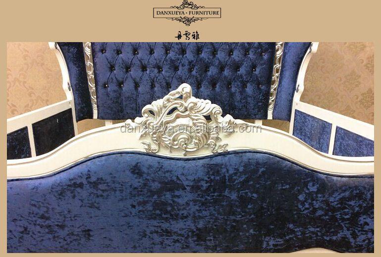 Rococo Bed Kopen : Klassieke natuurlijke houten bed kroon rococo frans bed buy