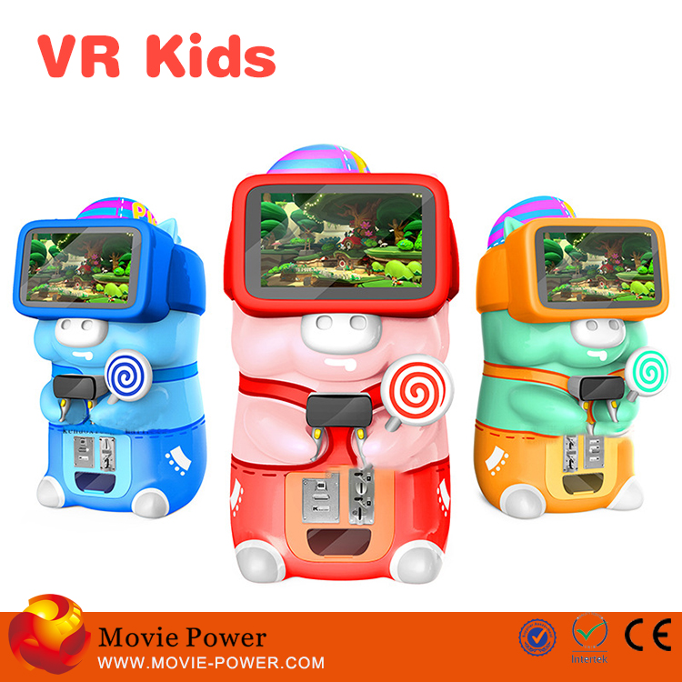 Unique Robot appearance vr games machine guangzhou 9d vr children playing games with vr glasses