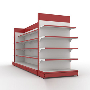 Guangzhou Hot Sell Supermarket Gondola Shelf Metal Steel Display Shelving for Convenience Store