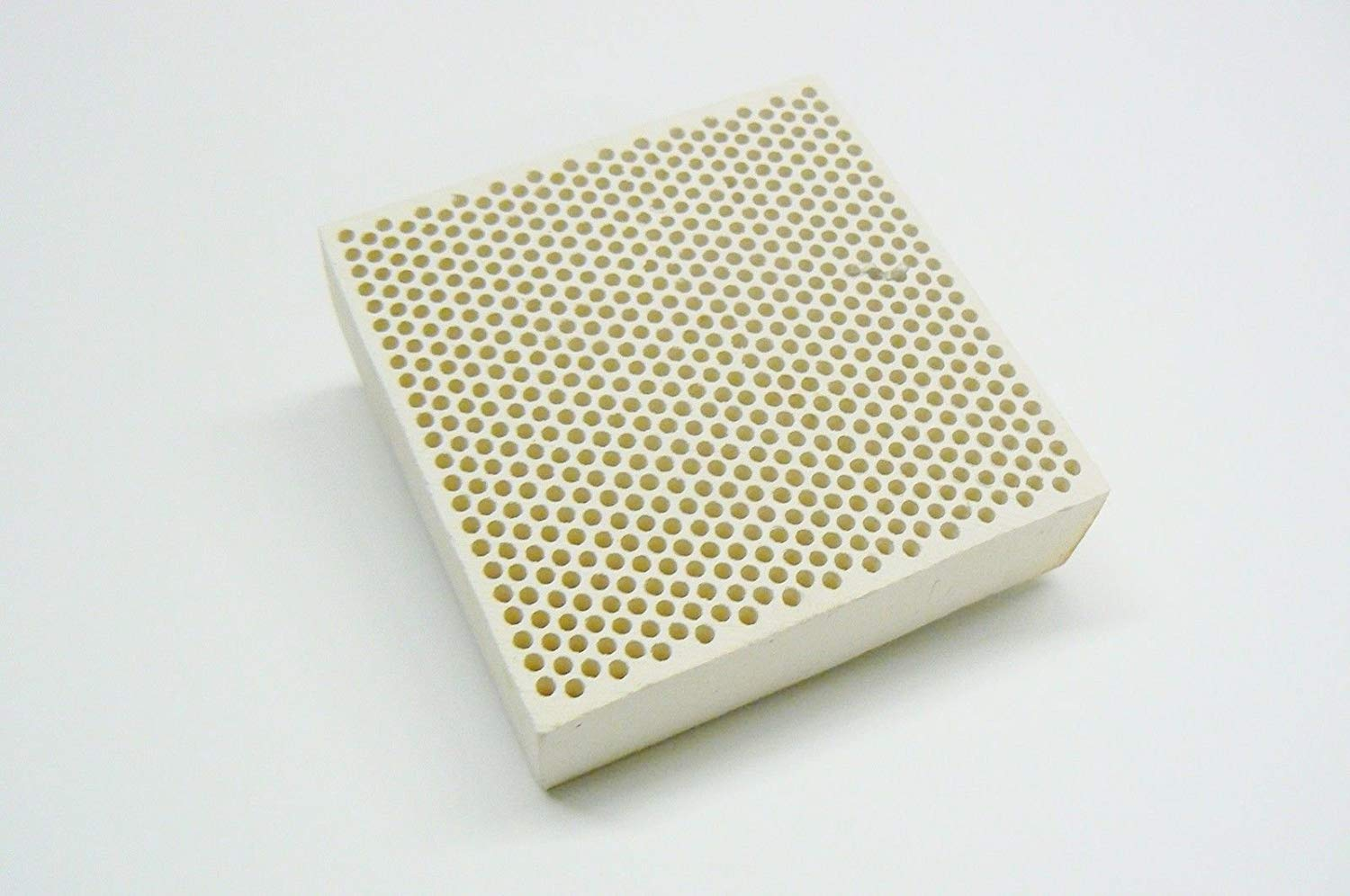 CP3 Brand 1x Alumina Ceramic Plate 4.5 Square 114cm Square 1mm .0394 thick rounded corners by CP3 Inc.