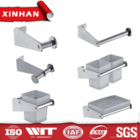 wholesale bathroom accessories stainless steel washroom hotel low price bathroom accessories set