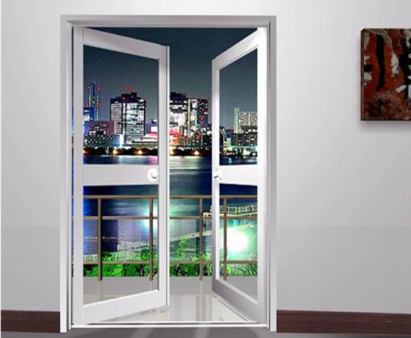 Aluminum alloy frame casement window and door with grill for Casement windows price