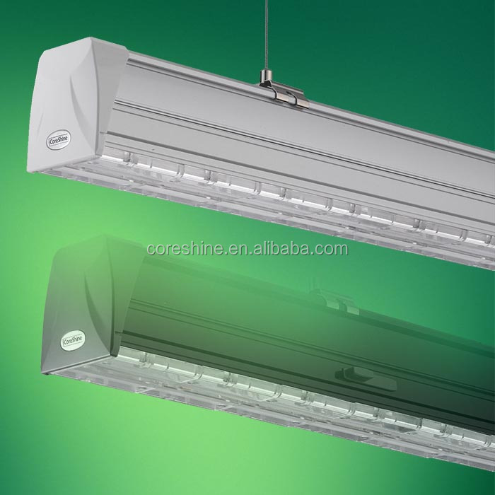 Intelligent Led Linear Trunking System 40W 65W Continuous Led Light Linear Replacing T8 Tube