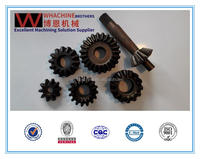 Professional custom straight bevel gear made by whachinebrothers ltd.