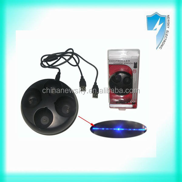 1x4 Charge Station 5v/2a For Ps3 Move Controller