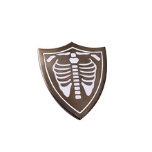 Nieuwste Harde Emaille Pin Mode Skelet <span class=keywords><strong>Schild</strong></span> Custom Hard Enamel Pin Voor Accessoires