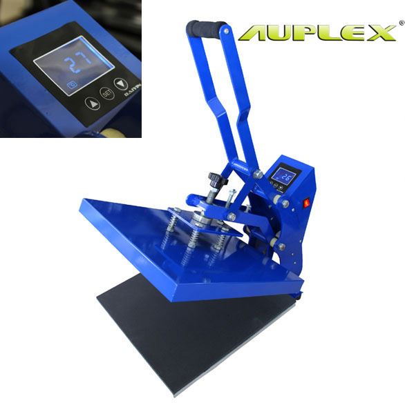 AUPLEX The Most Cost- Efficient LCD manual digital heat transfer sublimation printing HPC380