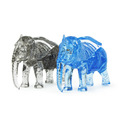 Cool Creative 41Pcs Set 3D dimensional crystal Elephant children early educational toys DIY assembled building blocks