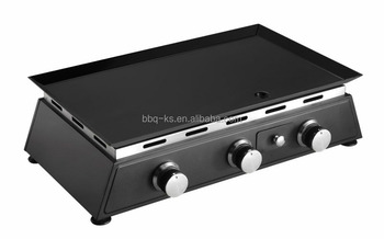 Flat Top / Table BBQ/INDOOR /OUTDOOR GAS BBQ GRILL WITH BIG HOTPLATE
