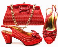 BH100 red yellow turkey royal plum size 38-43 italian matching shoes and bags,italian shoes and bag set