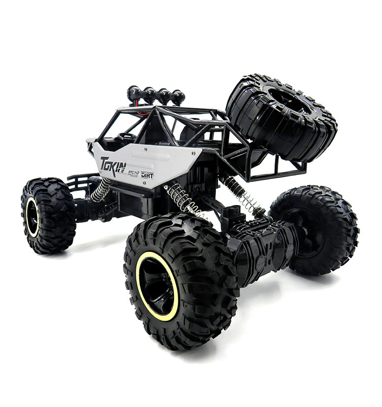 4. 6026E_Silver_2.4G_4WD_Off-Road_Buggy_Rc_Climbing_Car_Remote_Control_Alloy_Car
