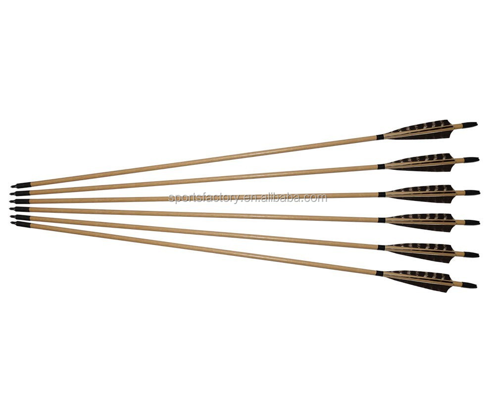 Indonesian White Wood Arrows 31