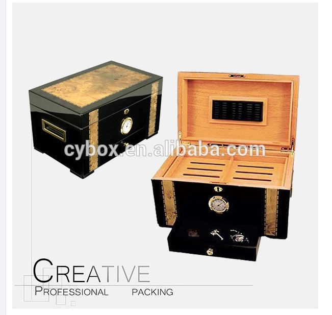 High Quality cedar wood cigar Humidor box 150 CT cigars