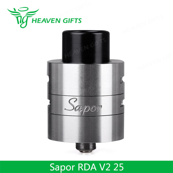 WOTOFO Sapor RDA V2 25 Tank Rhodium Plated Copper Contact e cigarette hong kong